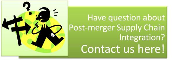 Post-merger Supply Chain  Integration