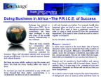 Doing Bussiness in Africa