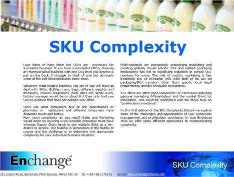 SKU Complexity E-book