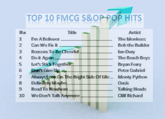 Top 10 FMCG S&OP Hits